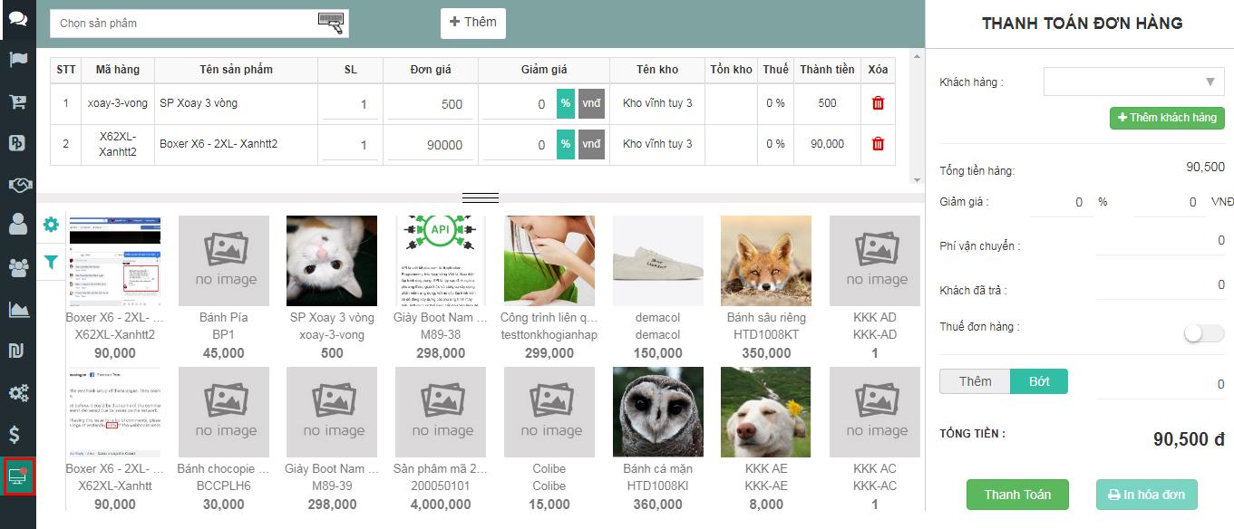 Abit Pos - Phần mềm quản lý cửa hàng