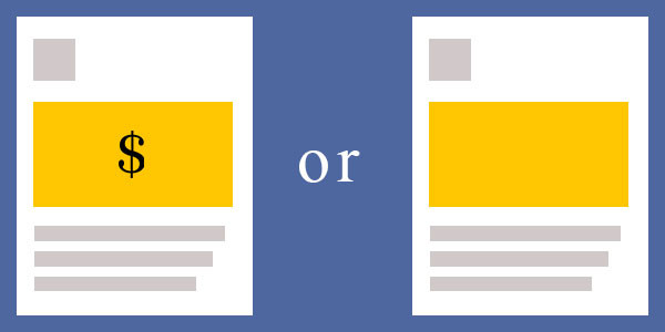 Có nên để giá sản phẩm trên bài quảng cáo Facebook hay không?