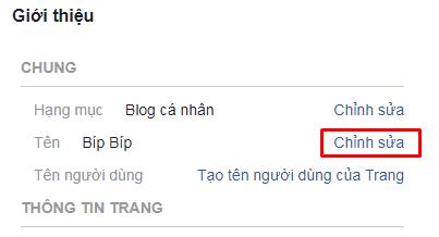 Hướng dẫn đổi tên fanpage trên 200 like