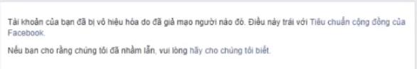 Hướng dẫn mở khóa tài khoản facebook bị báo cáo mạo danh - FAQ MD