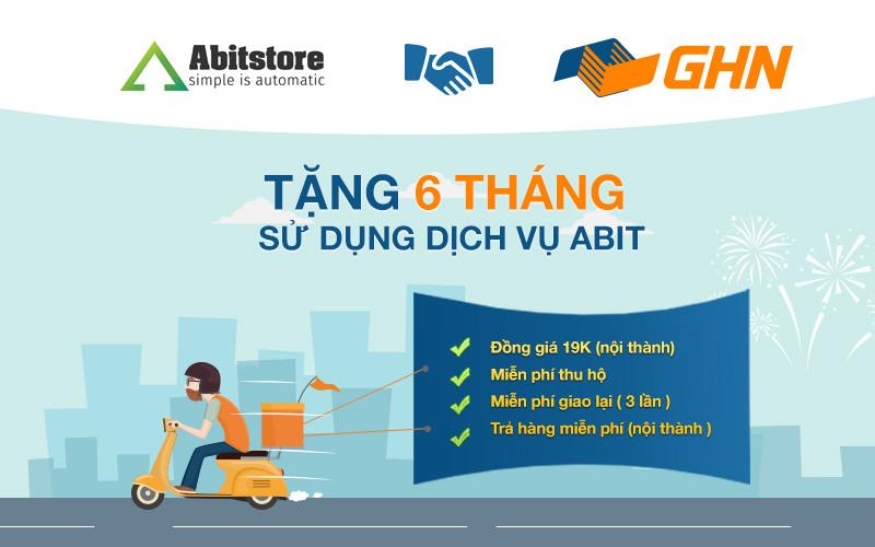 Ưu đãi vận chuyển của GHN Express với Abitstore