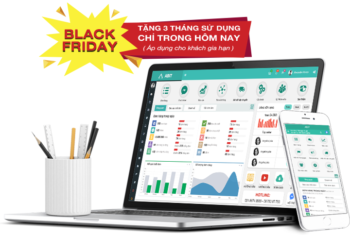 Black Friday - Tặng 3 tháng sử dụng phần mềm quản lý bán hàng