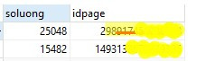 Số lương inbox quá lớn