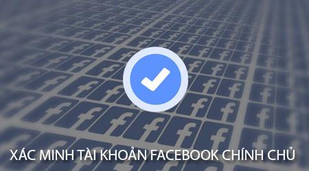 Cách xác minh danh tính tài khoản Facebook