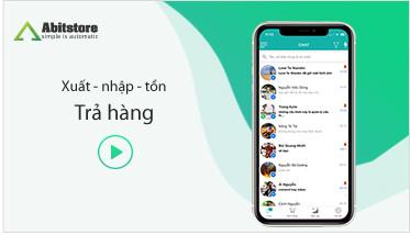 App Abitstore - Hướng dẫn tạo phiếu nhập trả
